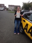 Vicki Salt passed with Bryan's School Of Motoring