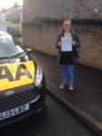 Hayley Deacon passed with Bryan's School Of Motoring