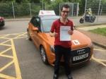 Steven Medlar passed with Sylvia's School of Motoring