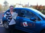 Abbie Bamford - Felbrigg passed with Sylvia's School of Motoring