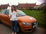 Becci Wilbraham - Sheringham passed with Sylvia's School of Motoring