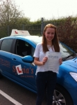 Beccy Bradley - Cromer passed with Sylvia's School of Motoring