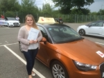 Carla Scottow - Trunch passed with Sylvia's School of Motoring
