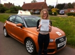 Carley Timerick - Aylmerton passed with Sylvia's School of Motoring