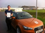 Colin Keast - Overstrand passed with Sylvia's School of Motoring