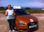 Danni Cooper - Trimingham passed with Sylvia's School of Motoring