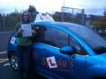 Gemma Cutts - Reepham passed with Sylvia's School of Motoring
