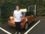 Laura Finnemore passed with Sylvia's School of Motoring
