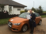 Izzy Stubbs - West Runton passed with Sylvia's School of Motoring