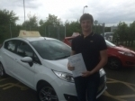Jamie Laville - North Walsham passed with Sylvia's School of Motoring