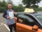 Joe Yaxley - Felbrigg passed with Sylvia's School of Motoring