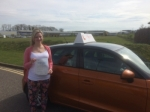 Karla Bayley passed with Sylvia's School of Motoring
