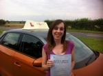 Kirsty Laye - Cromer passed with Sylvia's School of Motoring