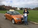 Lauren Gregory - Aldborough passed with Sylvia's School of Motoring