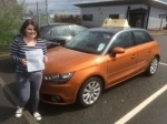 Laurina Mellows - Cromer passed with Sylvia's School of Motoring