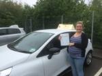 Sophie Osborne - Sheringham  passed with Sylvia's School of Motoring