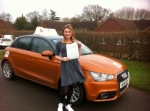 Jenny Russon - West Runton  passed with Sylvia's School of Motoring