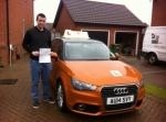 Ross Child - Aylsham passed with Sylvia's School of Motoring