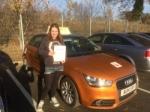 Letty Slezak - Cromer  passed with Sylvia's School of Motoring