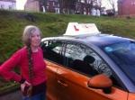 Angela Galey-Jones - Sheringham passed with Sylvia's School of Motoring