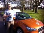 Ben Brocks - West Runton  passed with Sylvia's School of Motoring