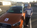 Nicole Andrews - North Walsham/Cromer passed with Sylvia's School of Motoring