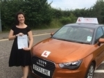 Melissa Rounce - Cromer  passed with Sylvia's School of Motoring