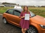 Anji Amari - Holt passed with Sylvia's School of Motoring