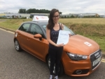 Louisa Pike - Banningham  passed with Sylvia's School of Motoring