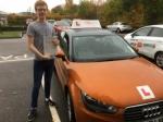Jack Marr - West Runton passed with Sylvia's School of Motoring