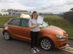 Emily Stevens - Sheringham passed with Sylvia's School of Motoring