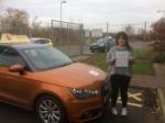 Chantelle Warnes - Cromer  passed with Sylvia's School of Motoring