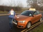 Karen Goodwin - Cromer passed with Sylvia's School of Motoring