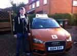 Josh Angell passed with Sylvia's School of Motoring