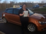 Sophie Stewart - North Walsham passed with Sylvia's School of Motoring