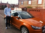 Jason Stimpson - Northrepps passed with Sylvia's School of Motoring