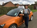 Sam Coombs - Sheringham passed with Sylvia's School of Motoring