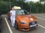 Laura Taylor - West Runton passed with Sylvia's School of Motoring
