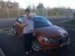 Olga Gokmen - Holt passed with Sylvia's School of Motoring