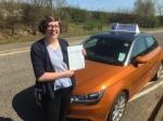 Atlanta Penrose - Mundesley passed with Sylvia's School of Motoring