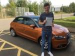 Callum Craske - West Runton passed with Sylvia's School of Motoring