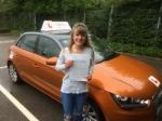 Natasha Bartle - Sheringham  passed with Sylvia's School of Motoring