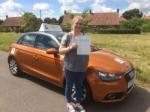 Nicola Webster - Cromer  passed with Sylvia's School of Motoring
