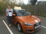 Sian Fernandes  passed with Sylvia's School of Motoring