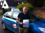Paul Hartle - Cromer passed with Sylvia's School of Motoring
