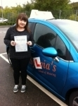 Verity Mould - Cromer passed with Sylvia's School of Motoring