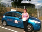 Ashleigh Williamson - Cromer passed with Sylvia's School of Motoring