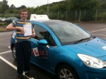 George Prince - Aylmerton passed with Sylvia's School of Motoring