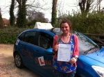Kate Turnbull - Overstrand passed with Sylvia's School of Motoring