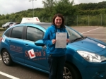 Sarah Goodwin passed with Sylvia's School of Motoring